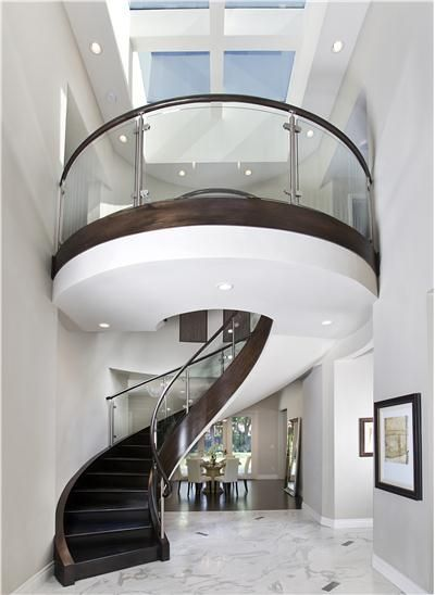 Beauty Of Spiral Staircases