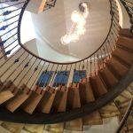 Spiral Staircase in South Sands Hotel Devon
